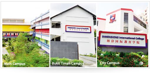 Du hoc Singapore - Campus